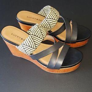 Lucky Brand Nyloh Wedge Sandal